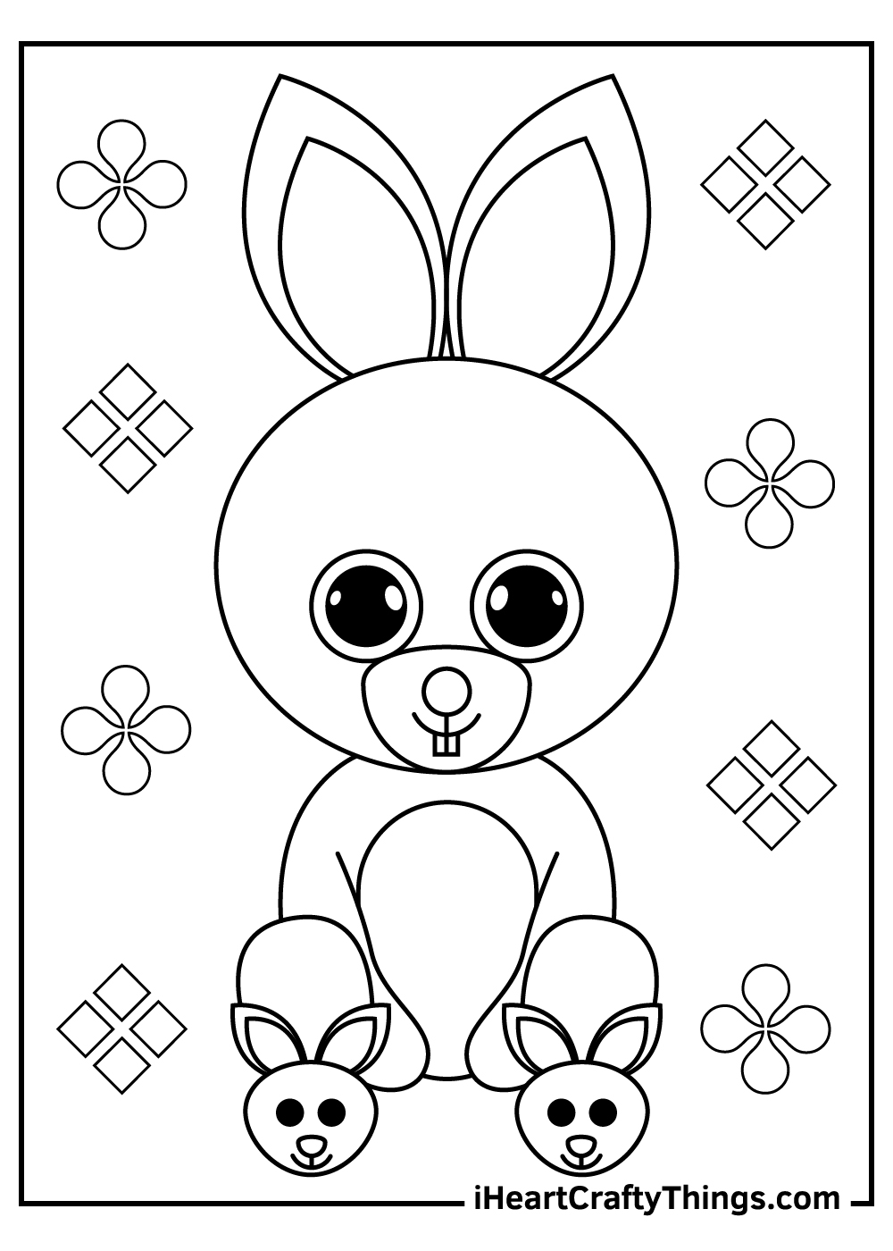 beanie boos coloring pages free printables