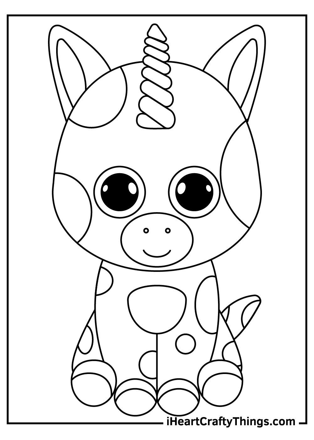 new beanie boos coloring pages free download