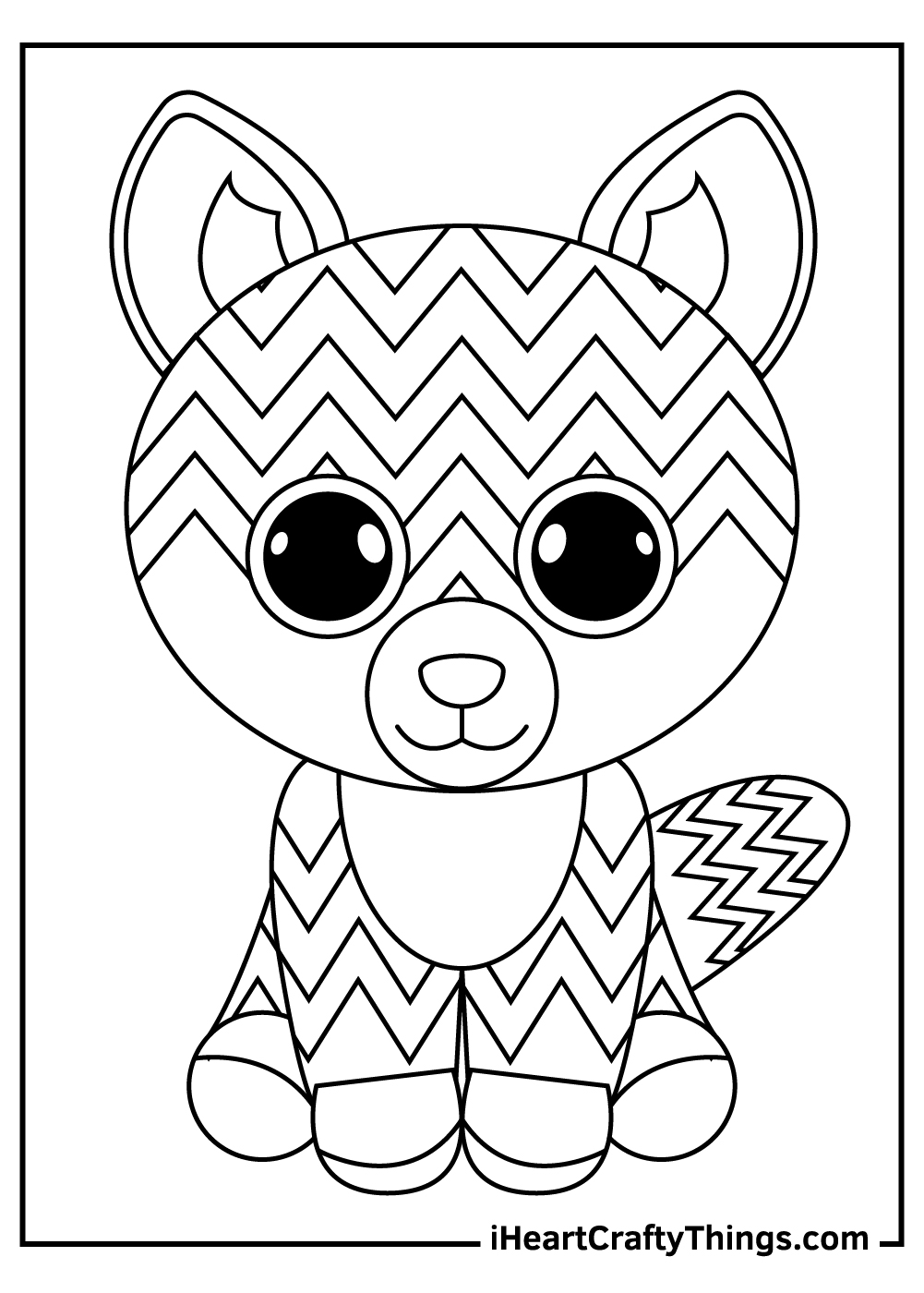 cool beanie boos coloring pages free print out