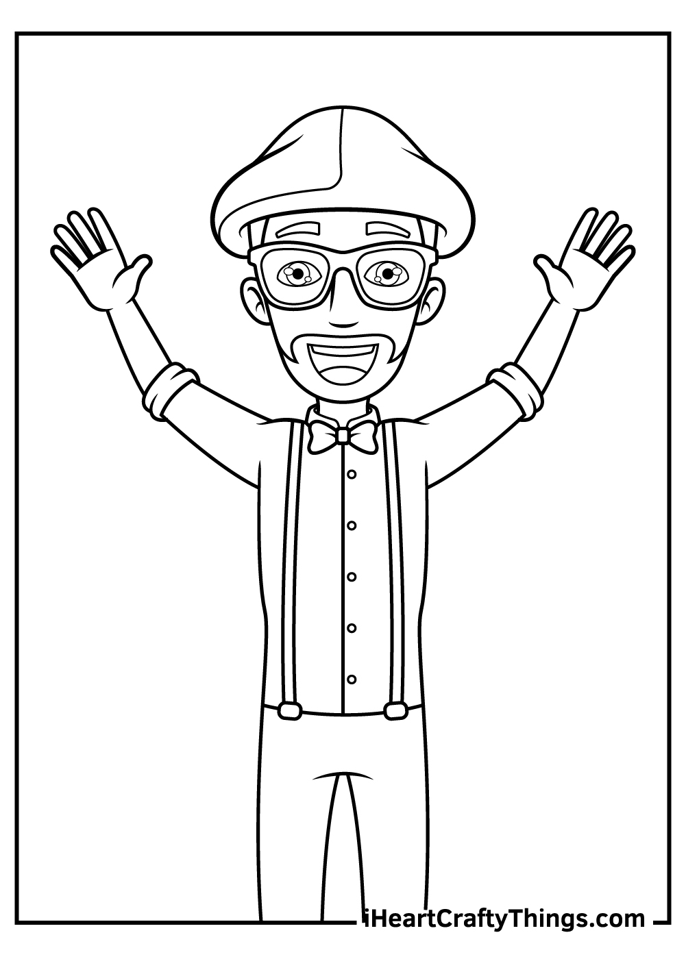 blippi coloring pages free pdf