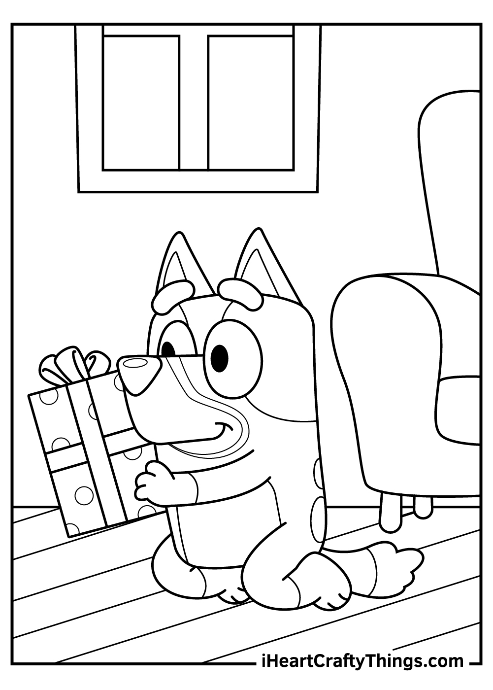 birthday bluey coloring pages free printables