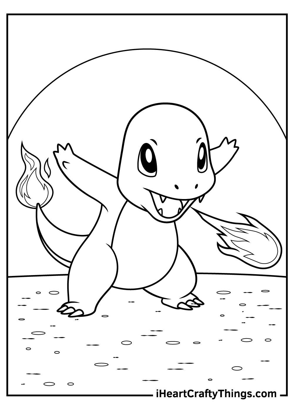 pikachu and charmander coloring pages free printable