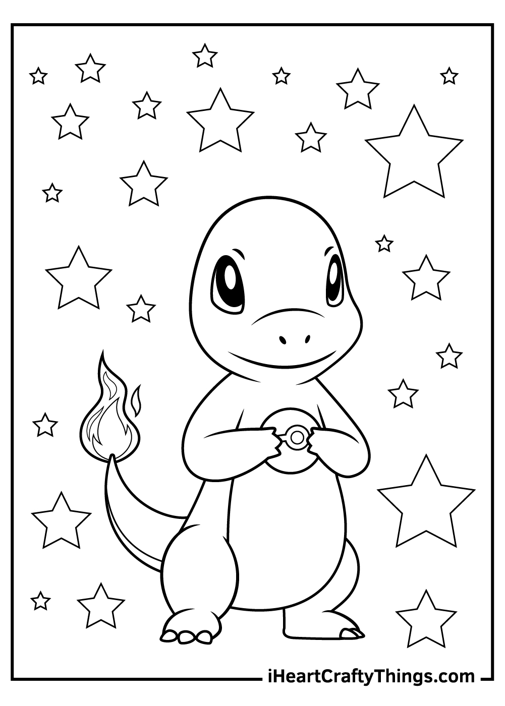 charmander coloring pages free download