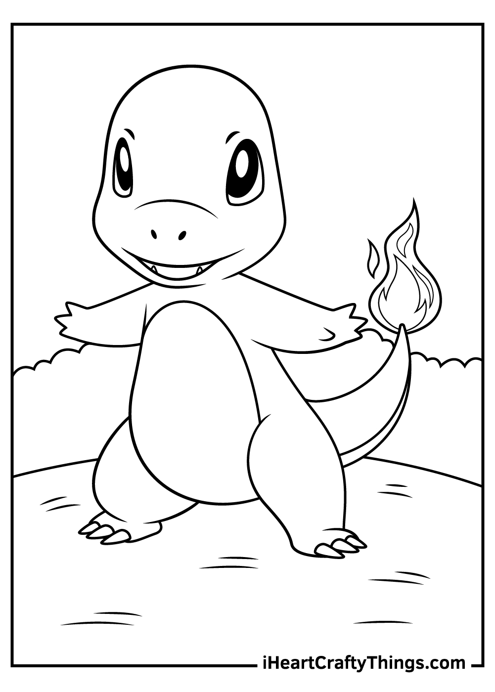 cute charmander coloring pages free download