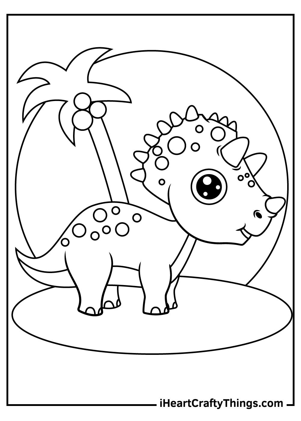 cute female dinosaurs coloring pages free printable