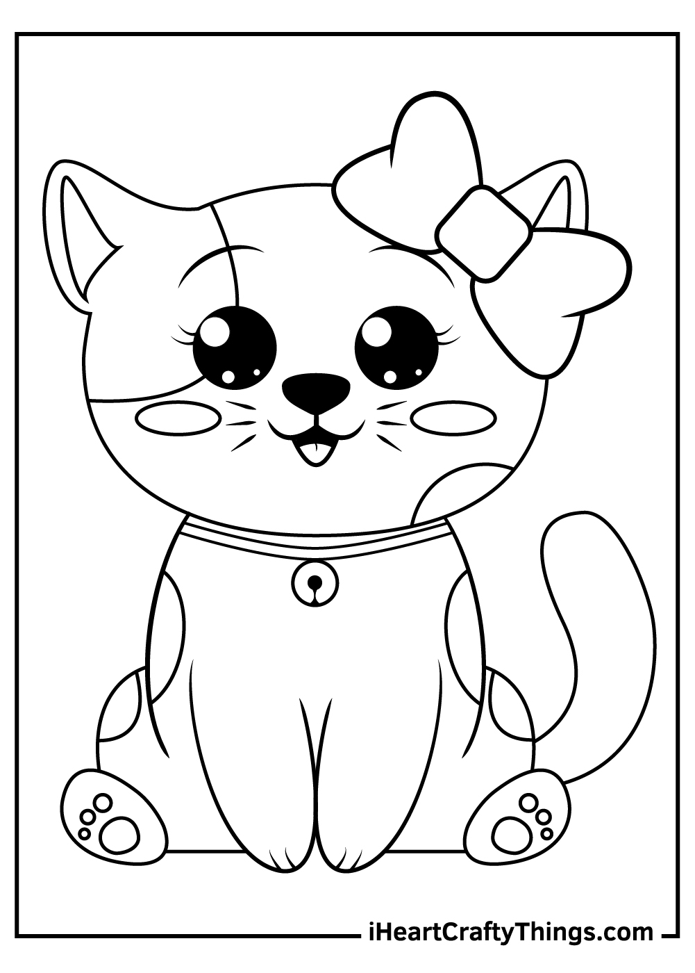realistic cute kitten coloring pagesfree printable