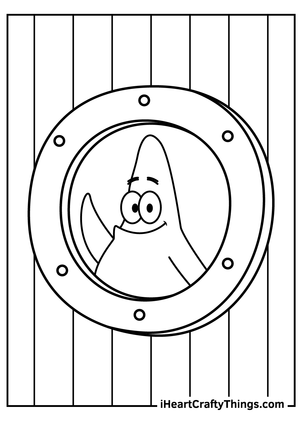 patrick spongebob coloring pagesfree download