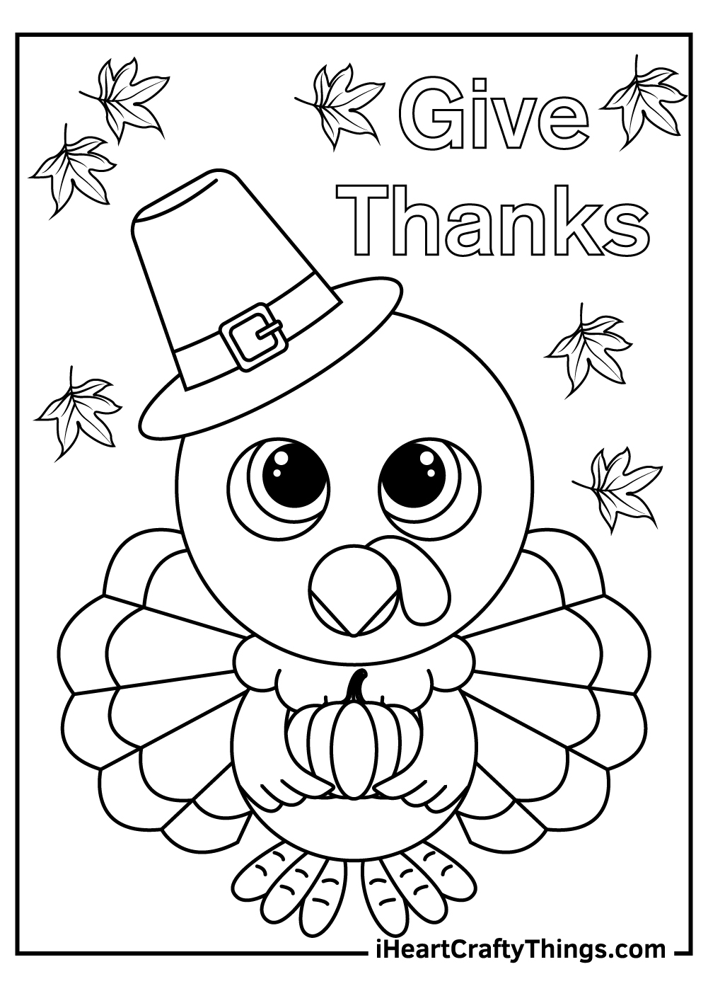 give thanks for thanksgiving coloring pages download now