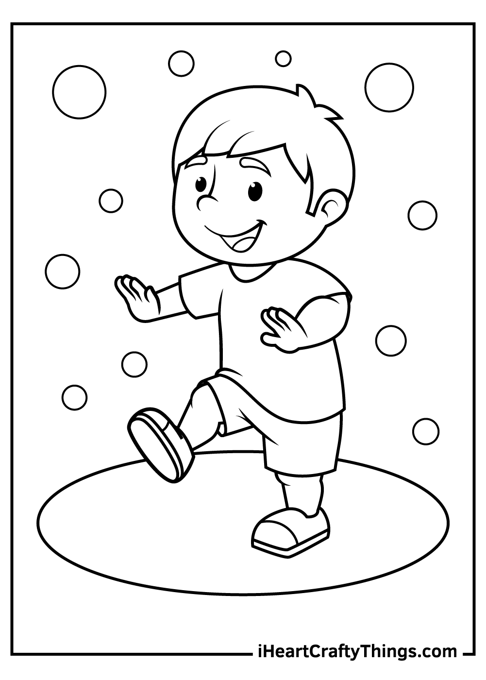 dance coloring pages to print