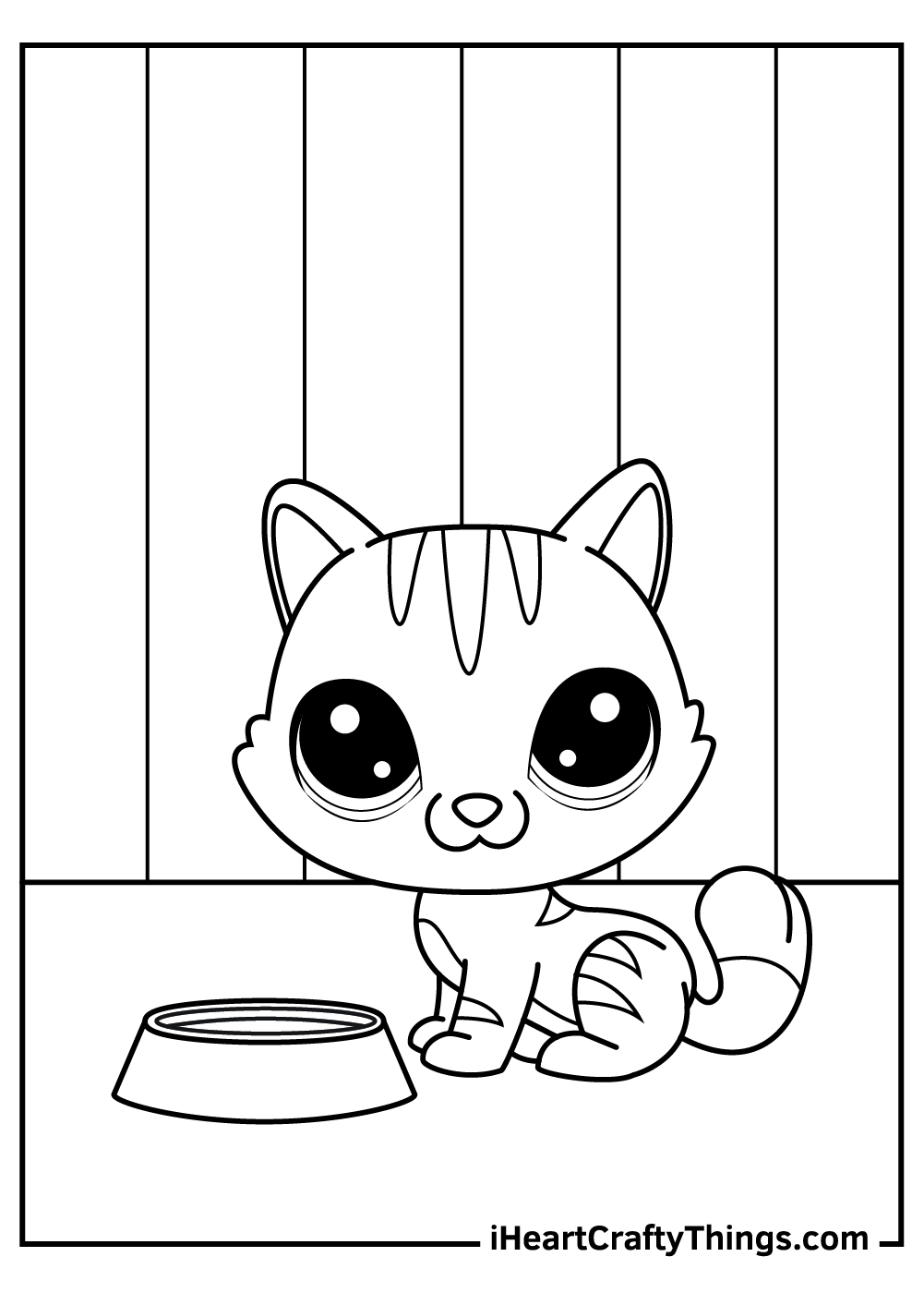 dogs and cats coloring pages free