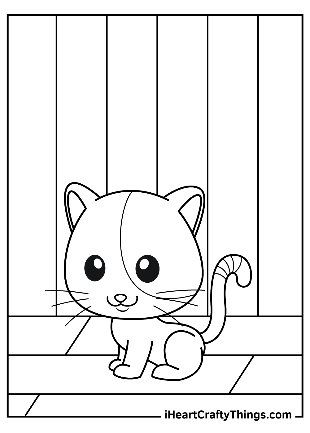realistic cats coloring pages free download