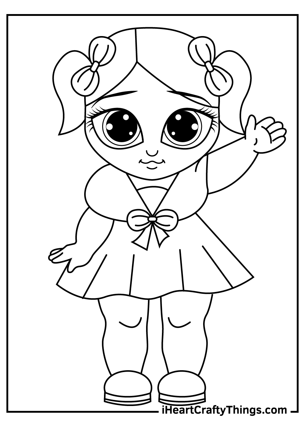lol dolls coloring pages free download
