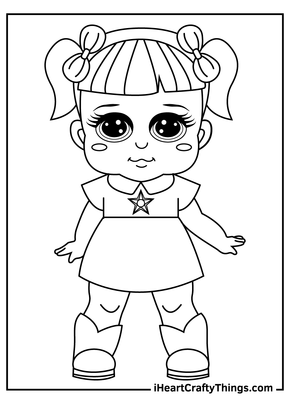 cute lol dolls coloring pages free printable