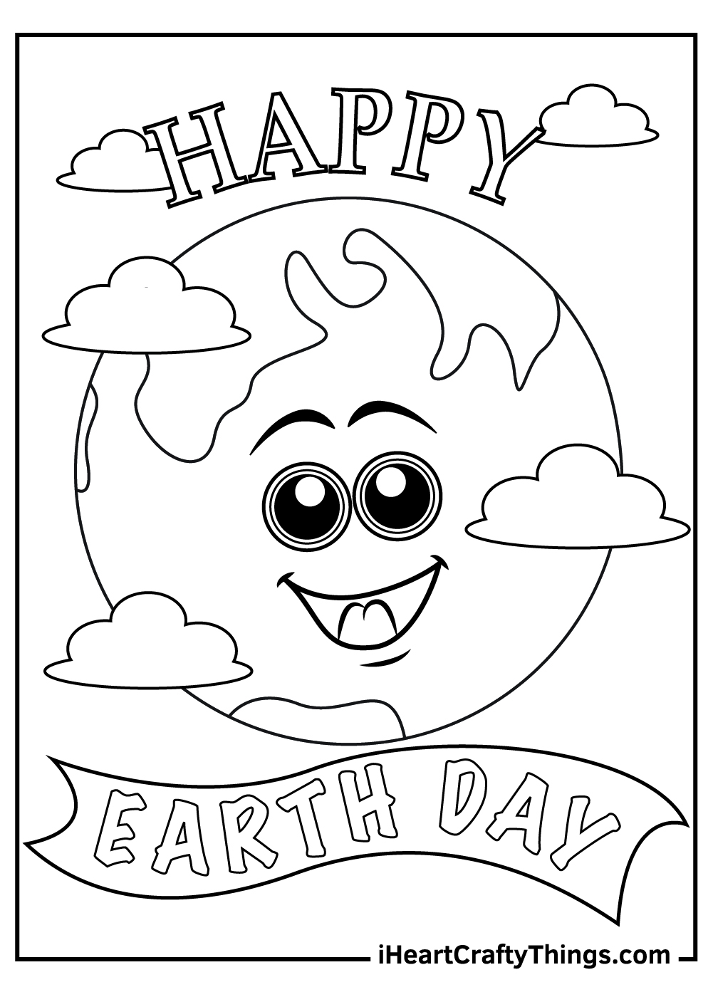 earth day coloring pages free printable pdf