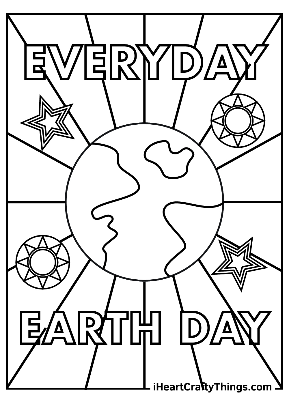 everyday earth day coloring pages free pdf