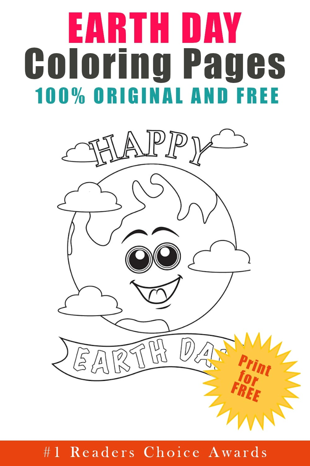 original free earth day coloring pages