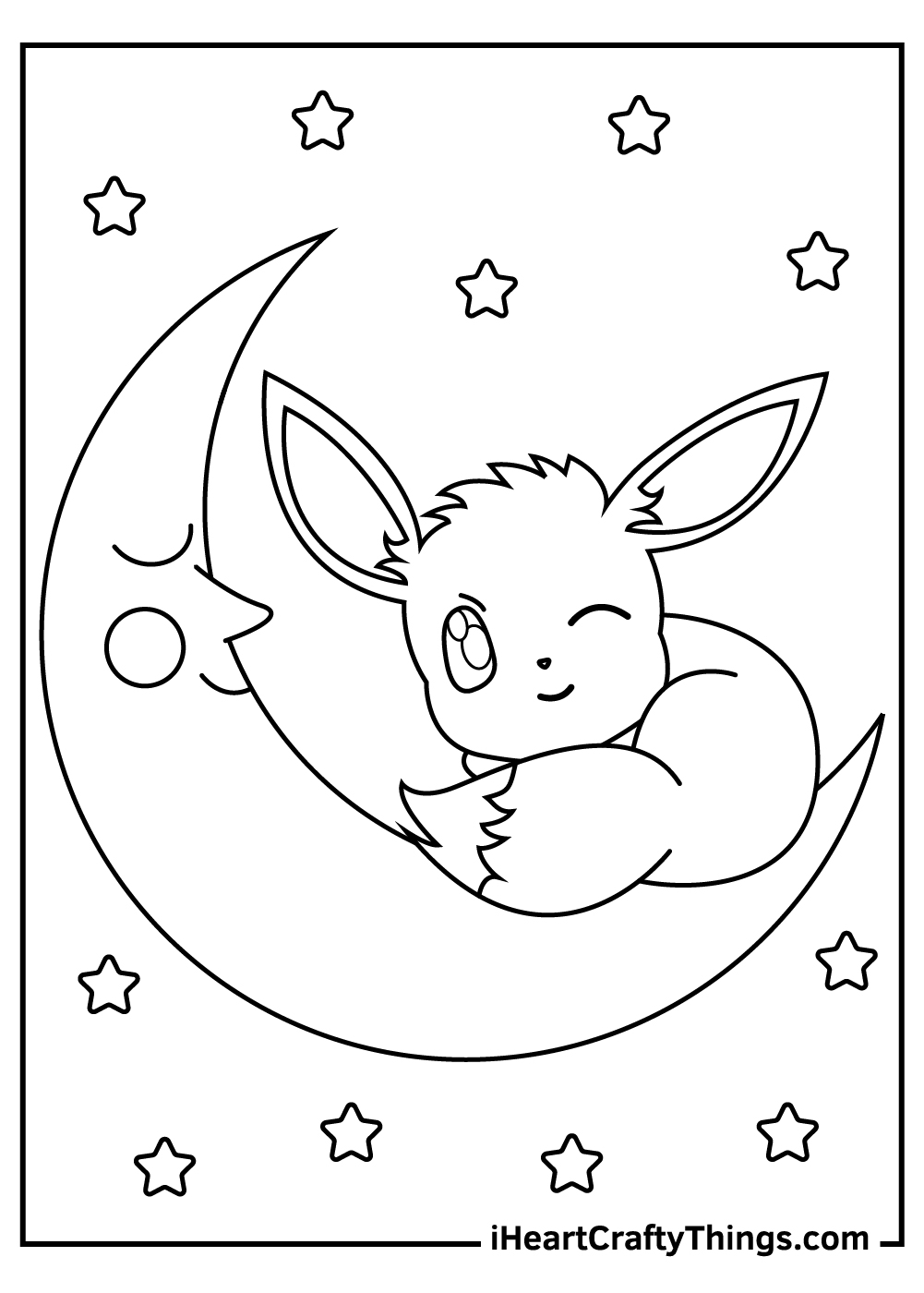 adult eevee pokemon coloring pages free pdf