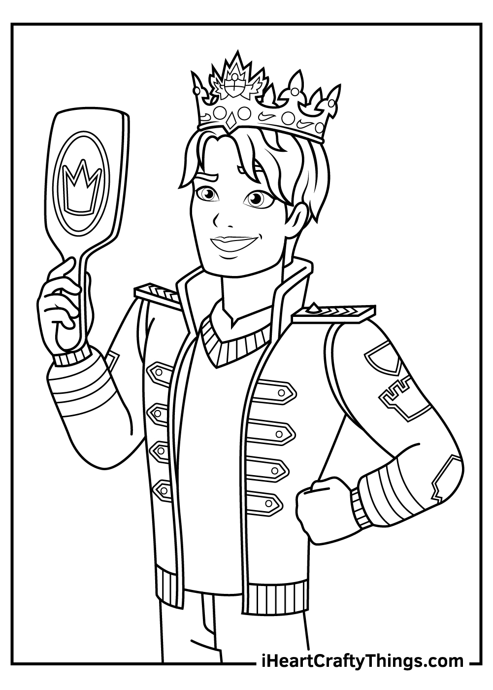 male ever after high coloring pages free printables