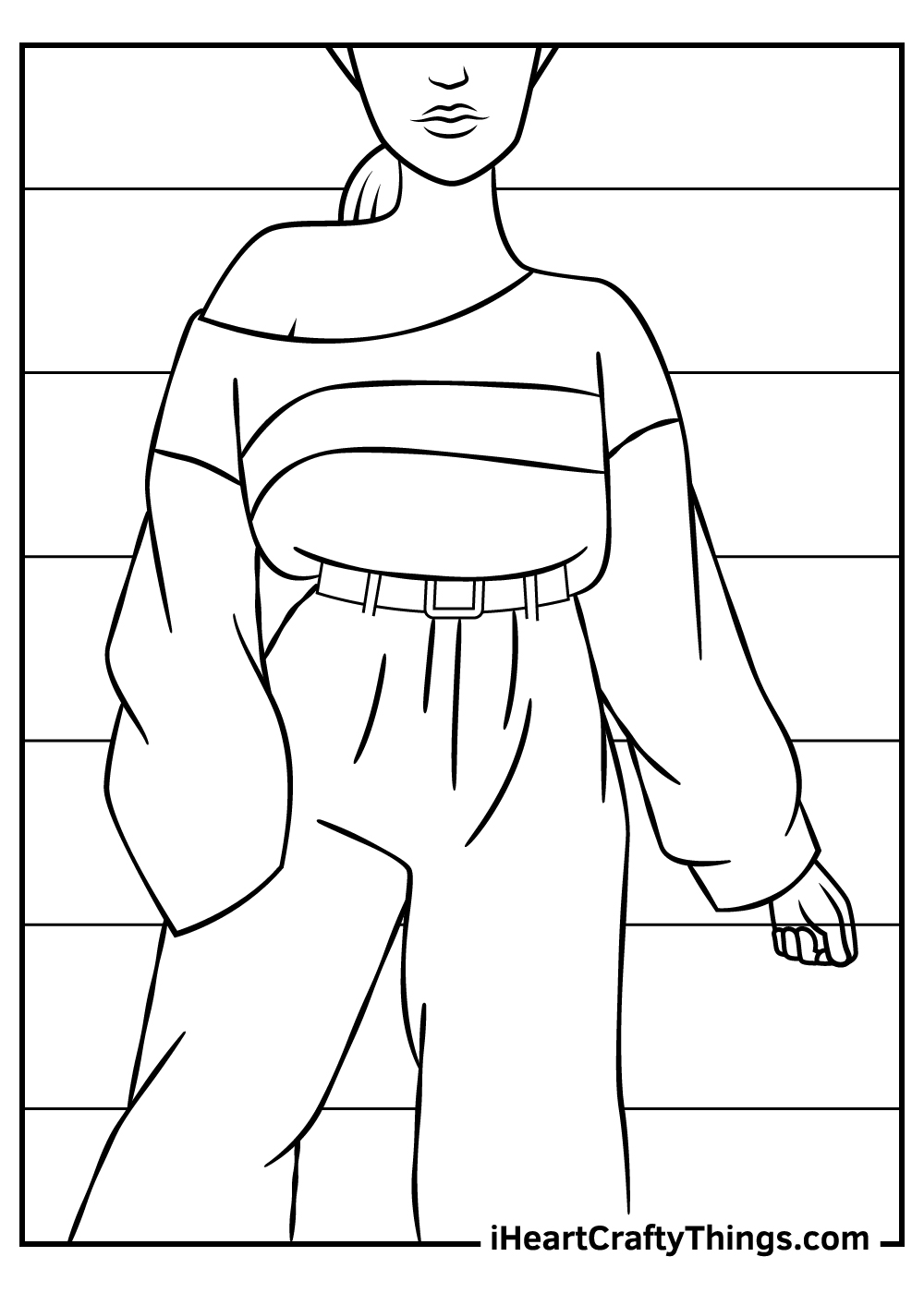 old fashion coloring pages free printable