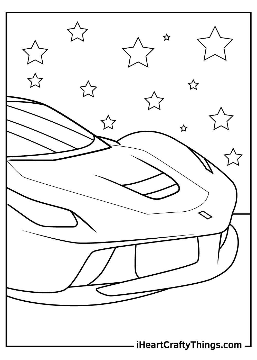 cool ferrari coloring pages free download