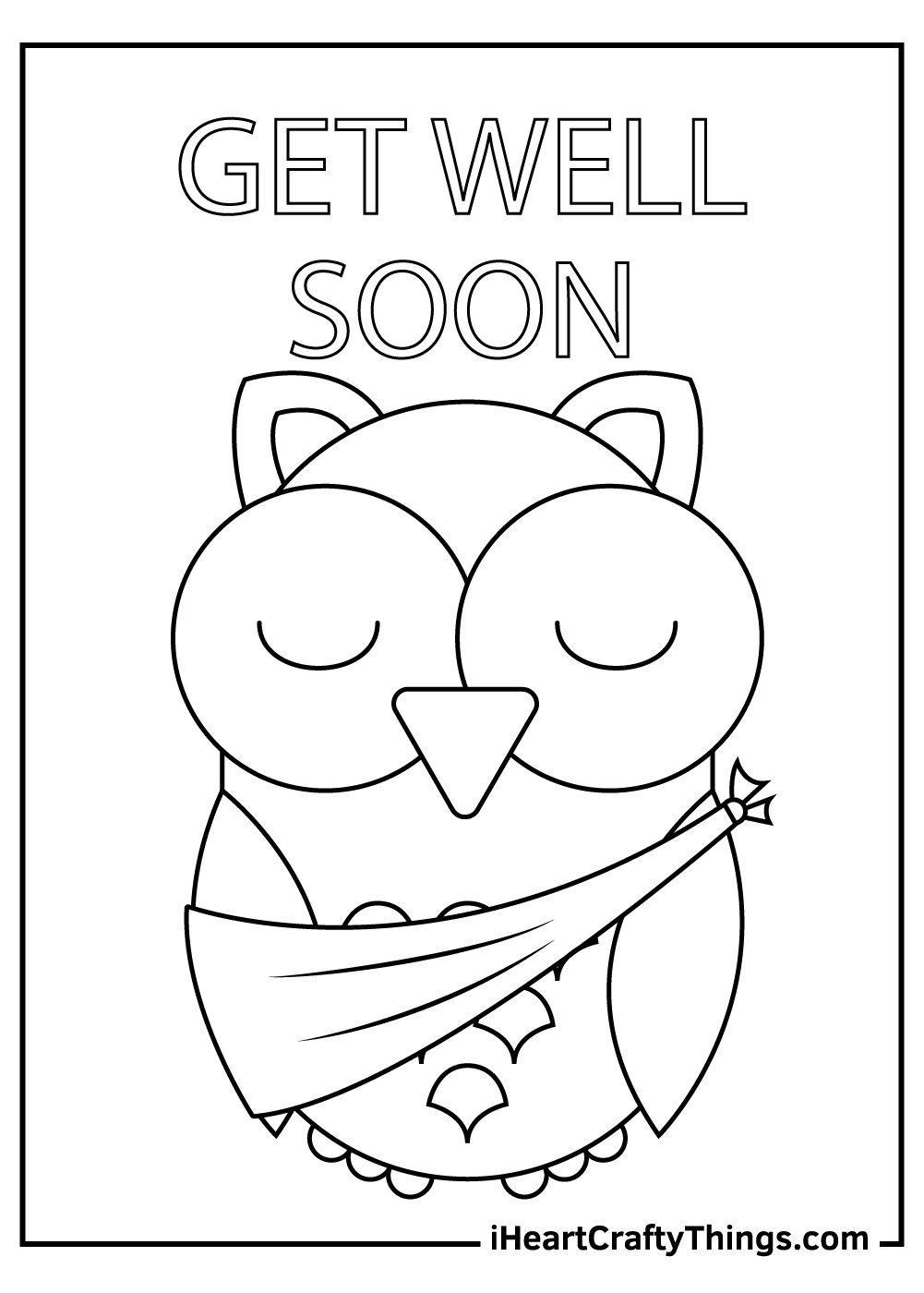 mother get well soon coloring pages free printable