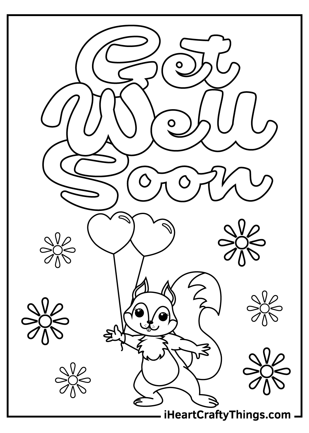 get well soon coloring pages for a teacher images
