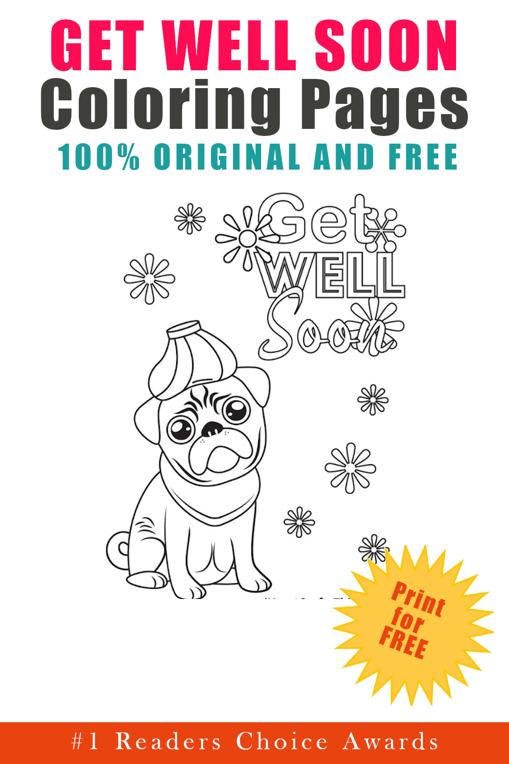original and free get well soon coloring pages
