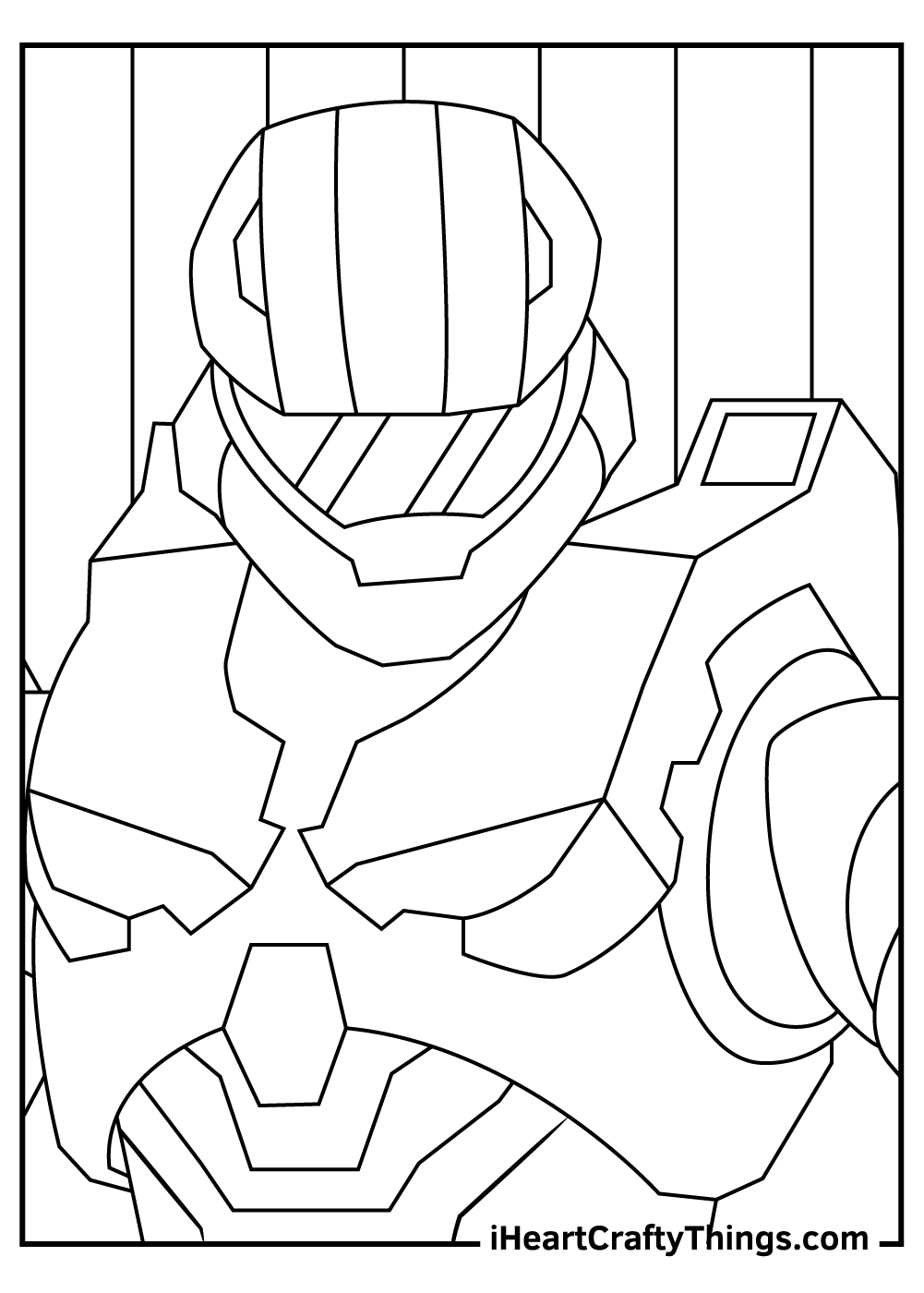 new master chief halo coloring pages free download