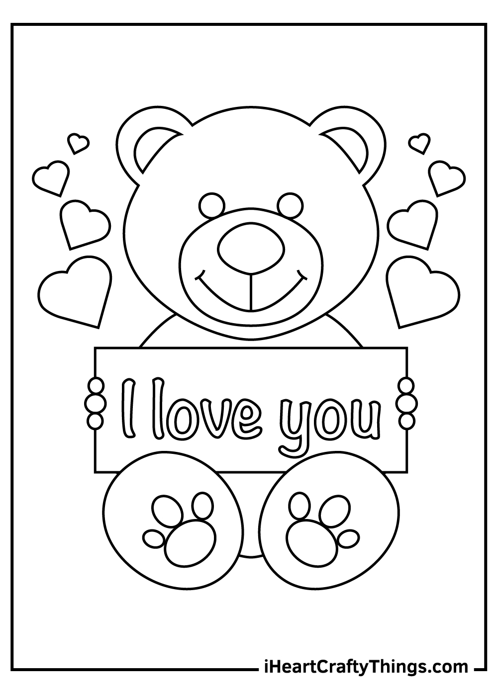 i love you coloring pages for boyfriend