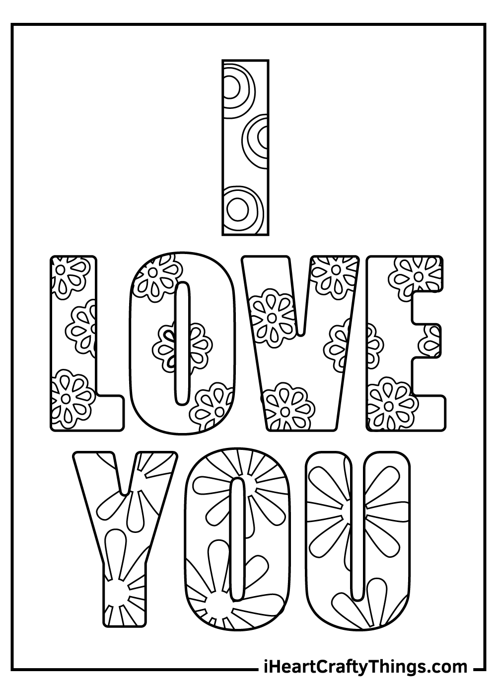 i love you coloring pages for sister
