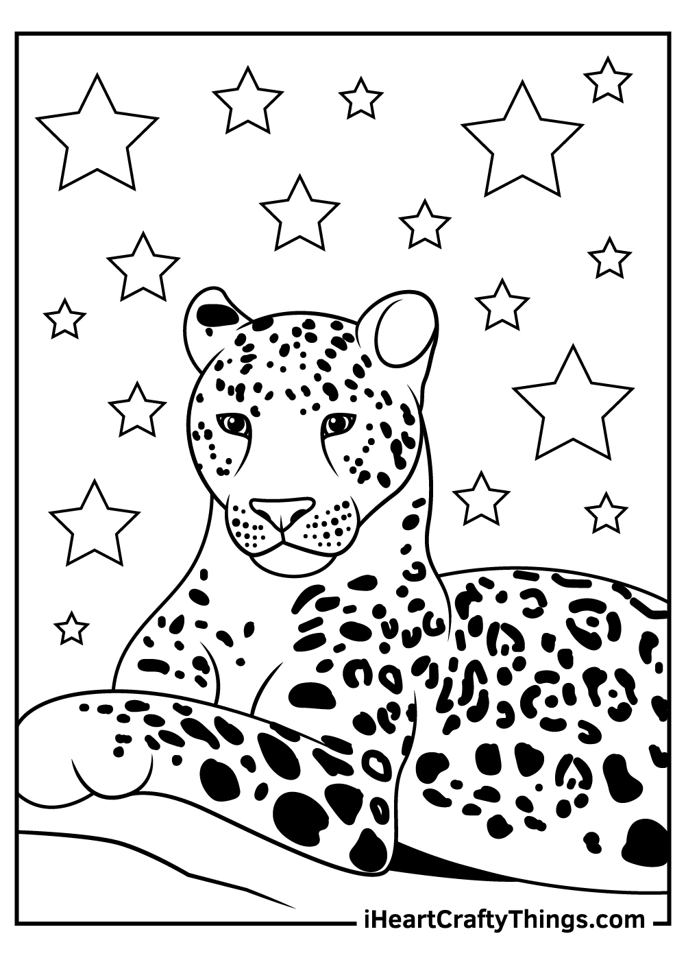 easy jaguar coloring pages free printables