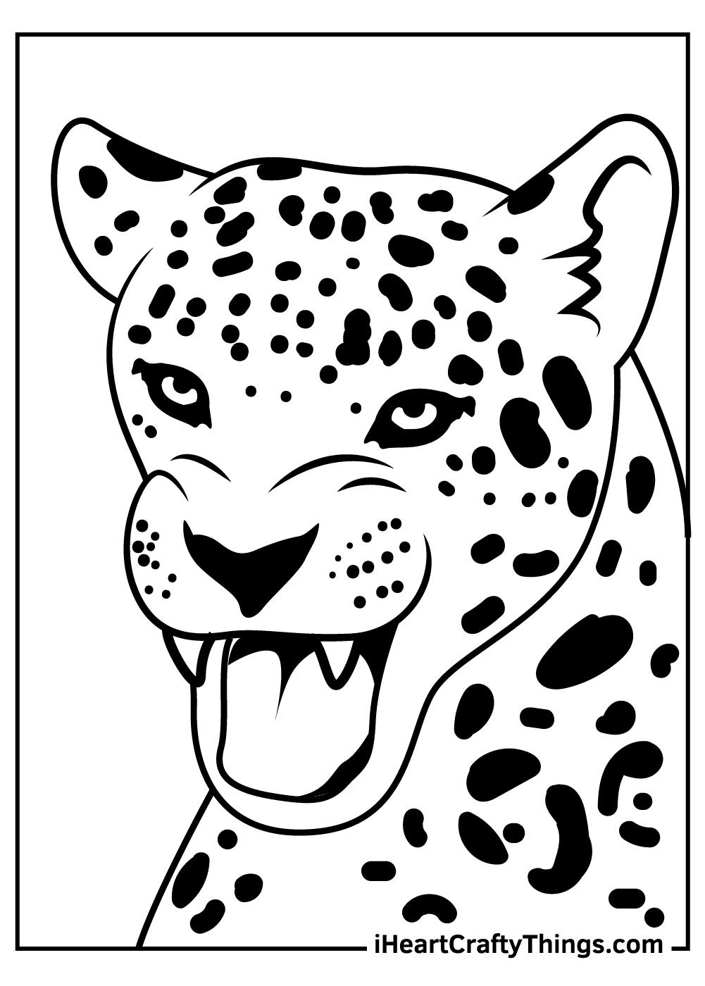 jaguar coloring pages for kids free download