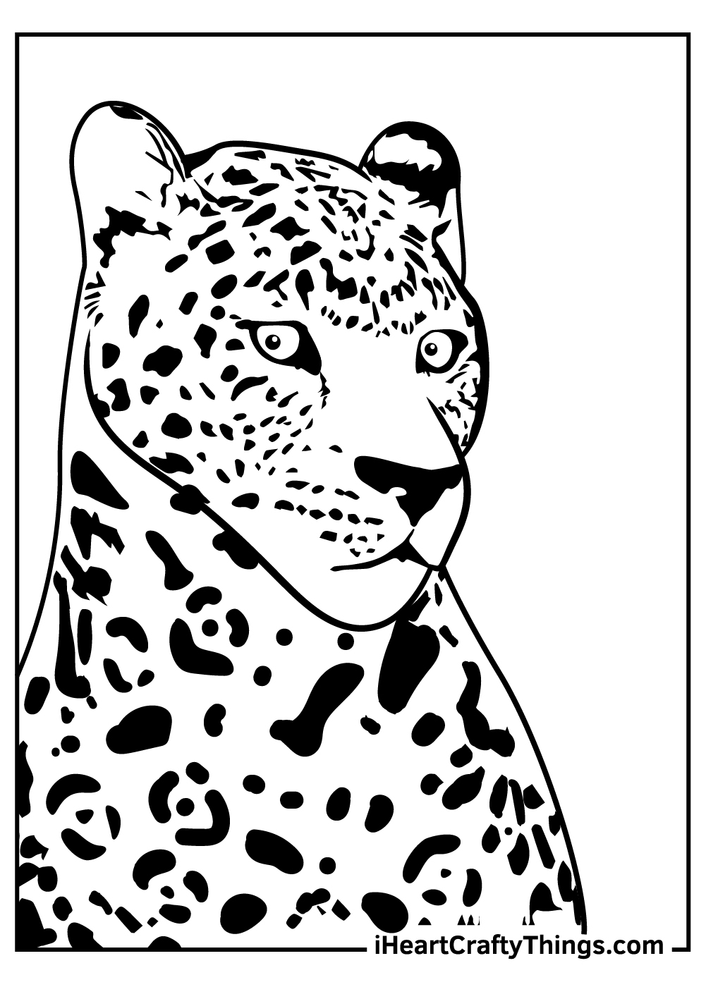adult jaguar coloring pages free printables