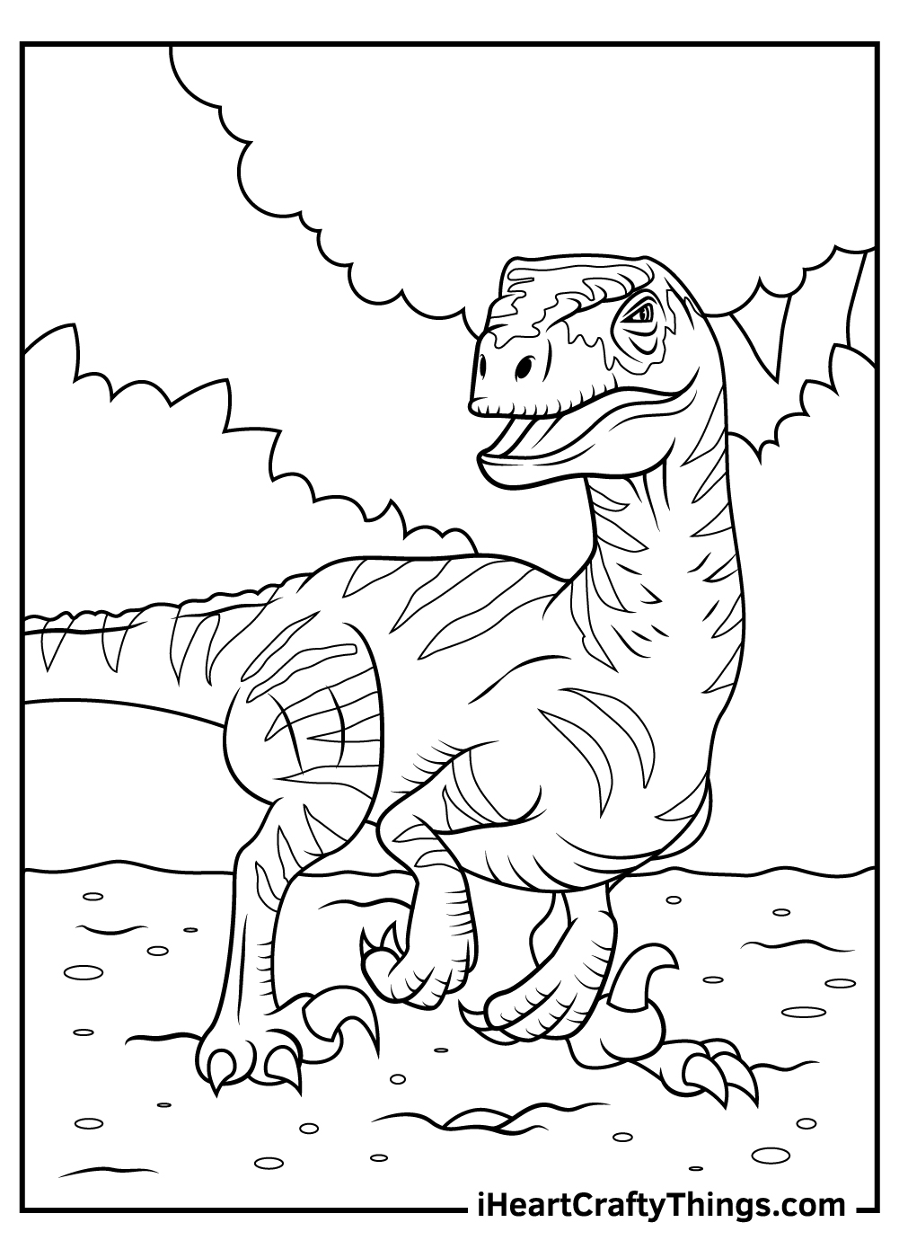 lost world of jurassic park coloring pages
