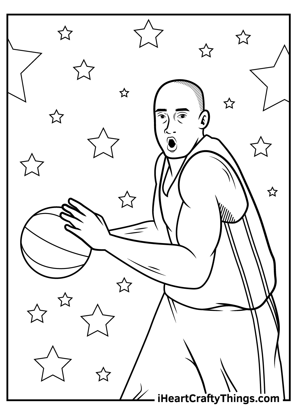 Bryant Lakers Free Coloring Pages