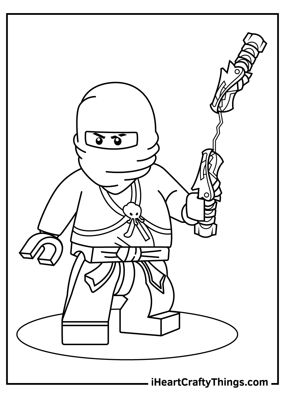 lego ninjago coloring pages to print