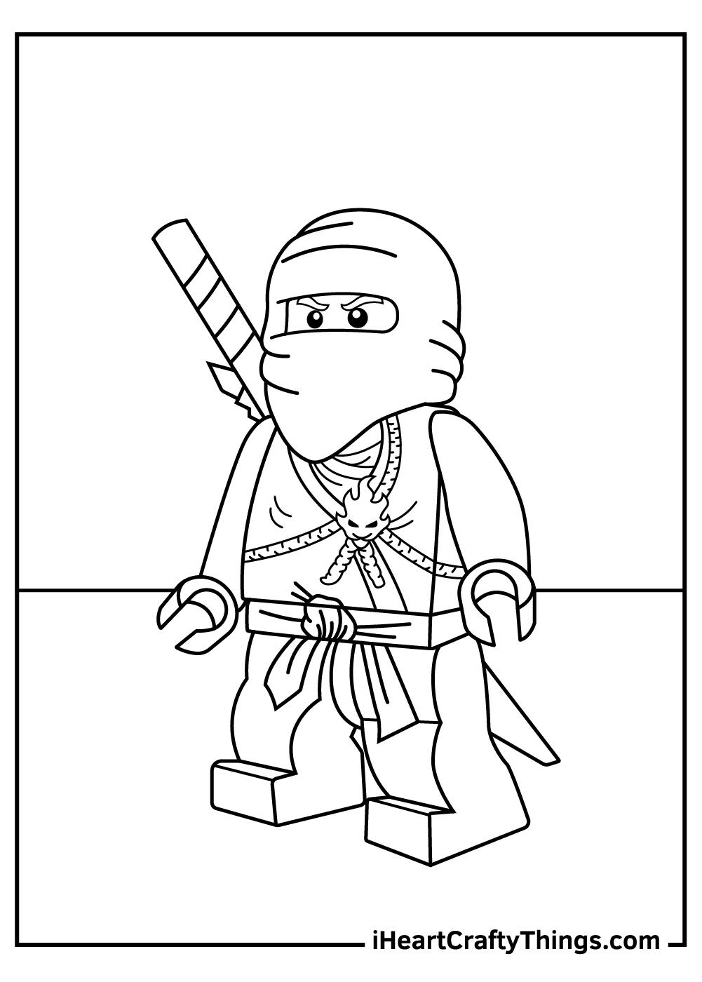 lego ninjago coloring pages season 8