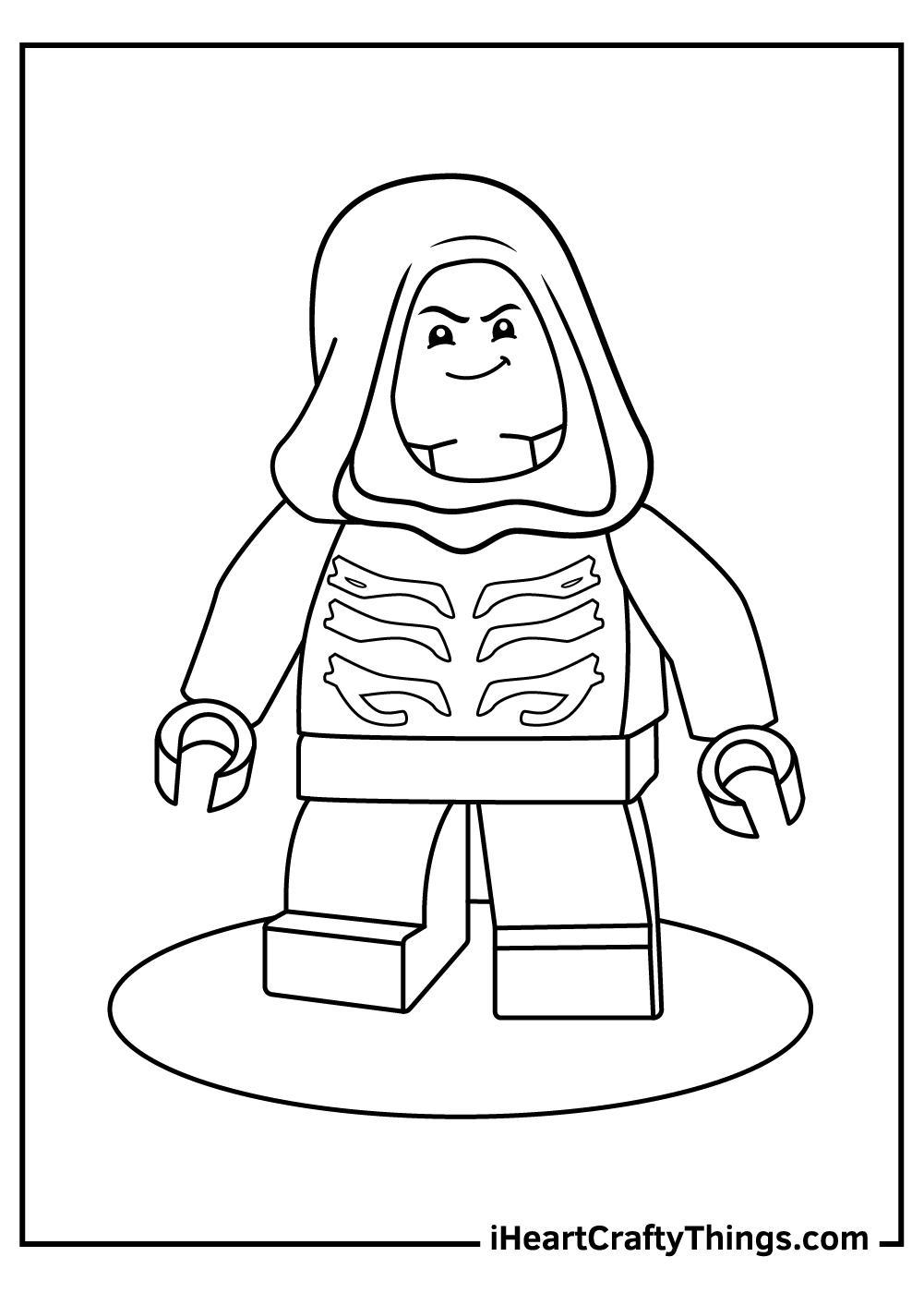 lego ninjago coloring pages new lloyd