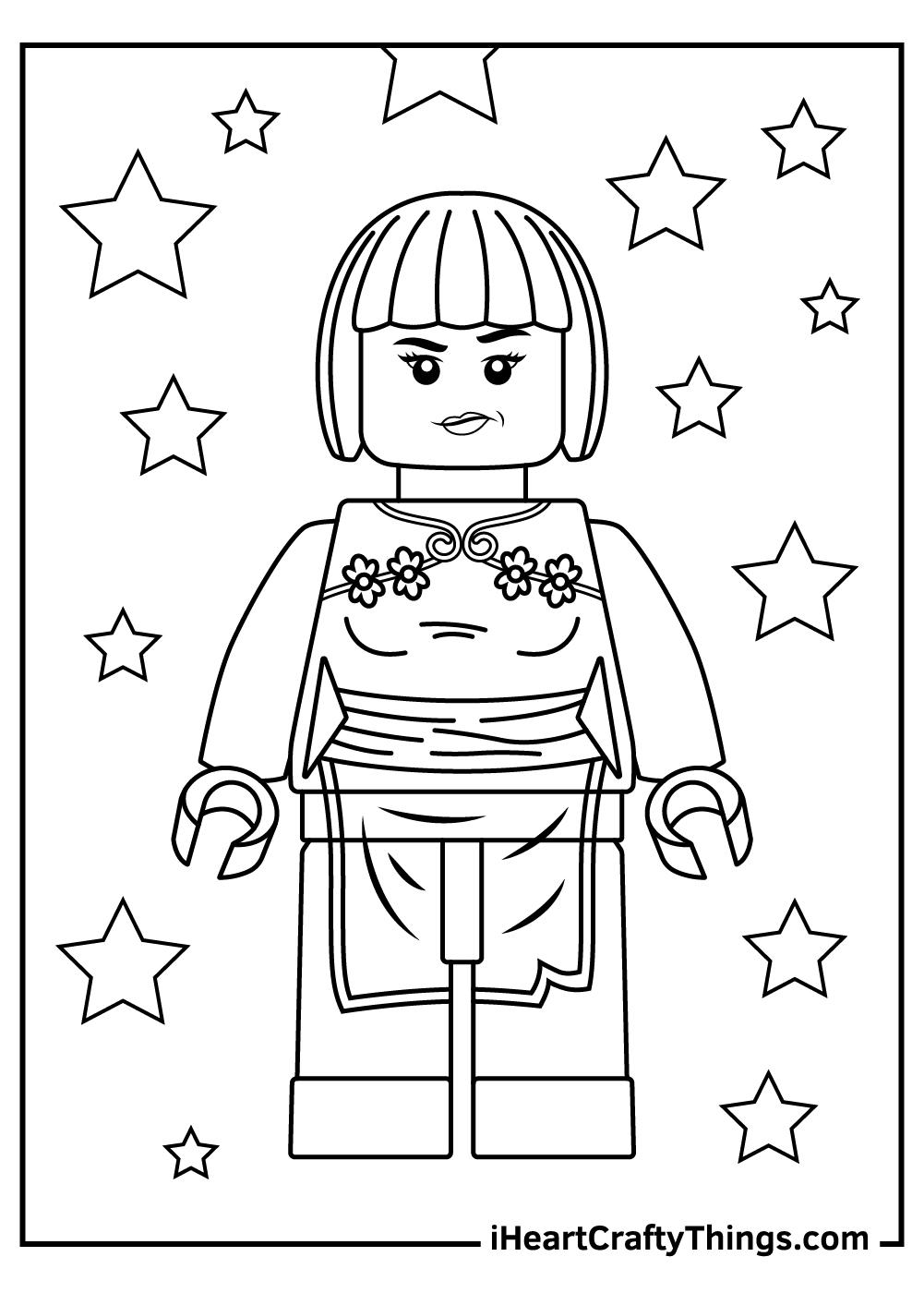 red ninjago kai lego ninjago coloring pages