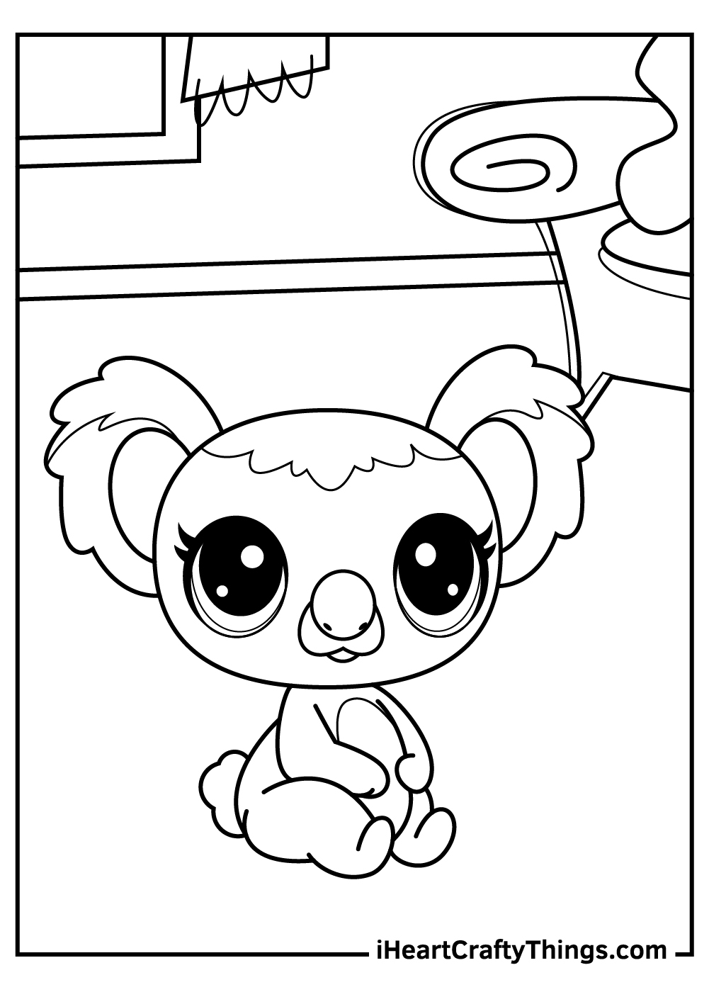 cute littlest pet shop coloring pages free download
