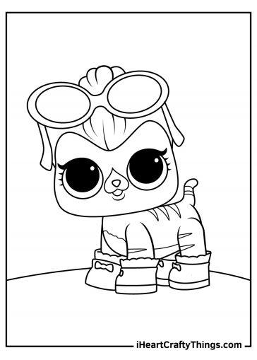 lol surprise dolls coloring pages pdf