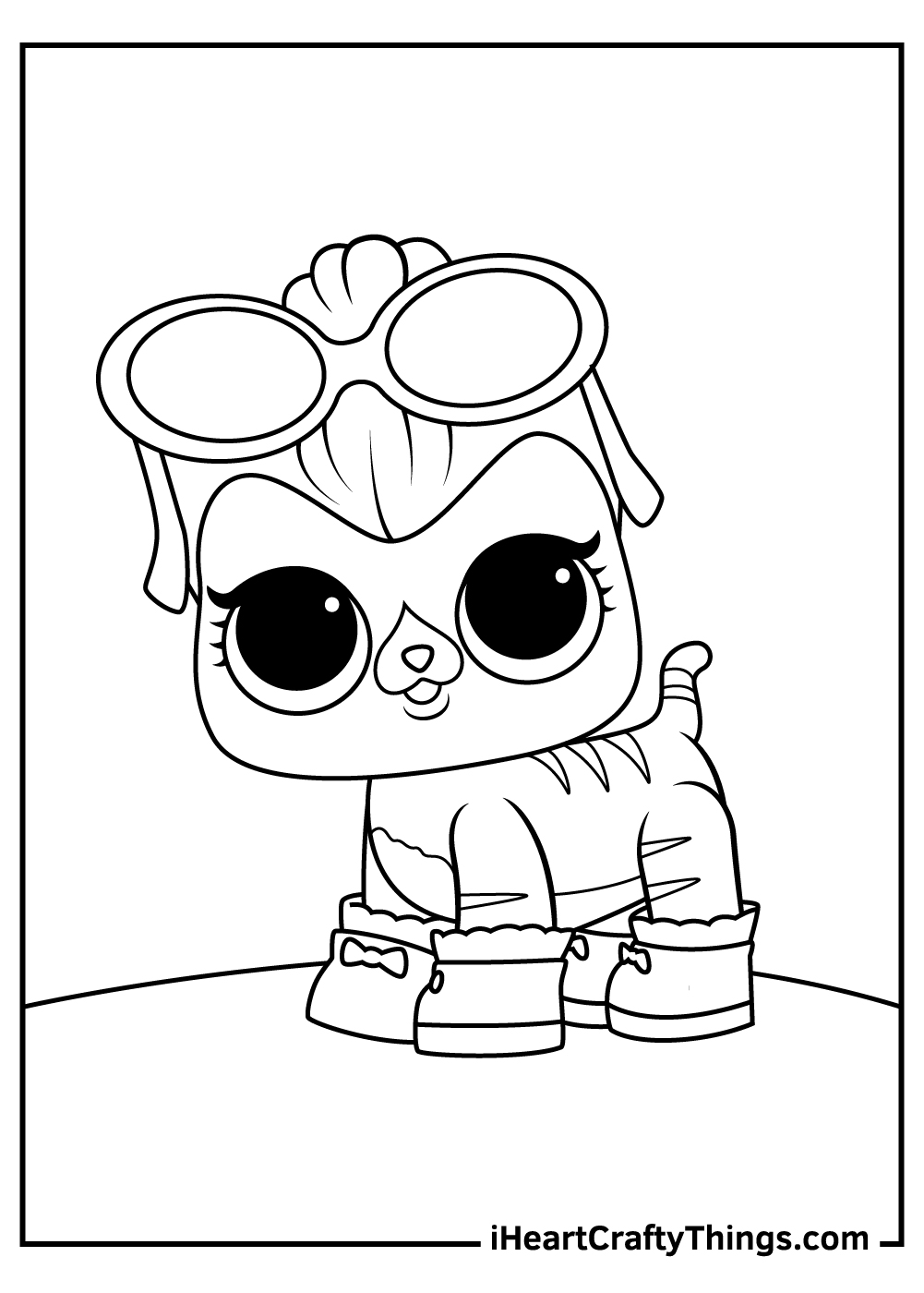 lol surprise pets coloring pages for kids