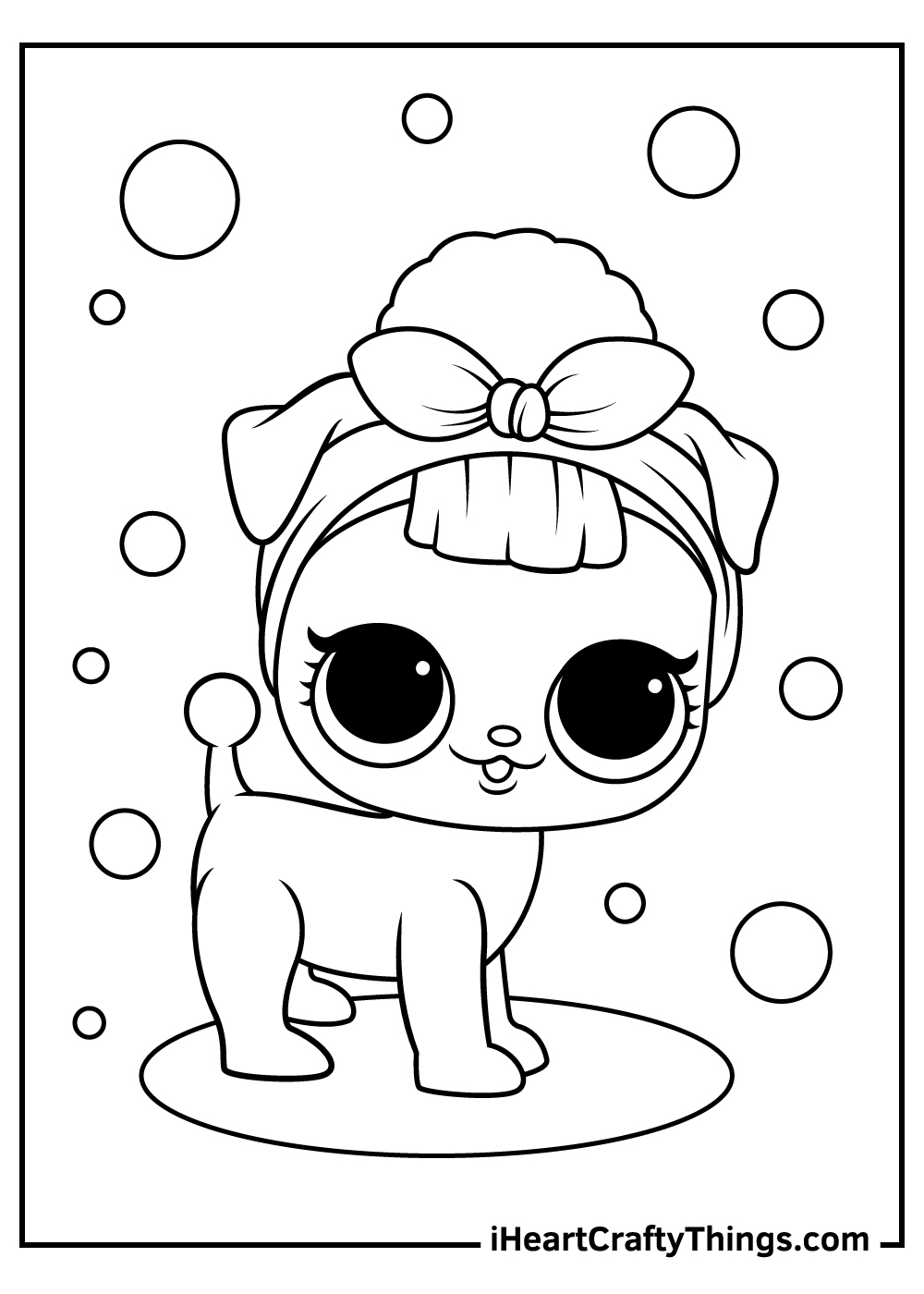 lol surprise pets coloring pages for adults