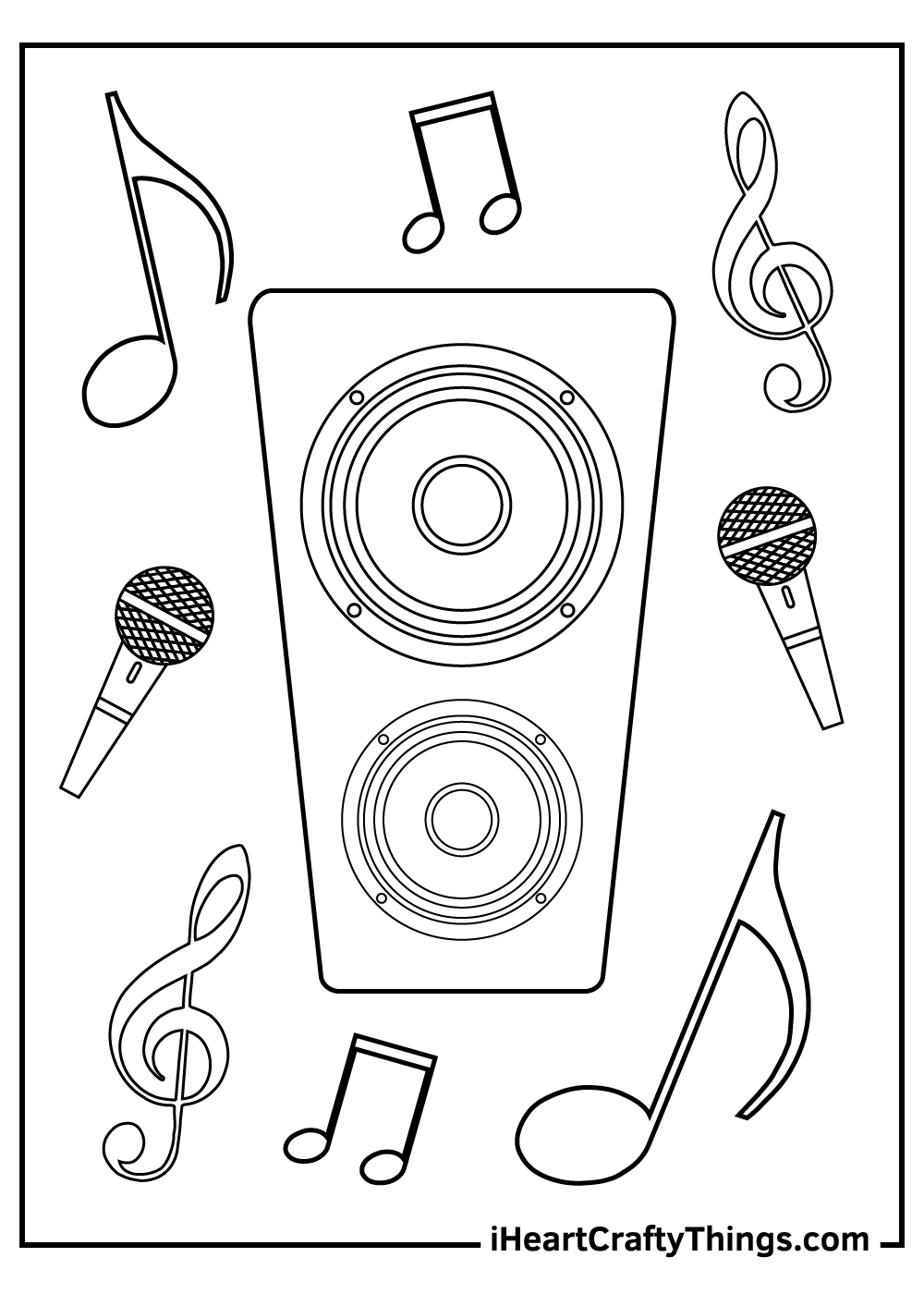 peace love music coloring pages