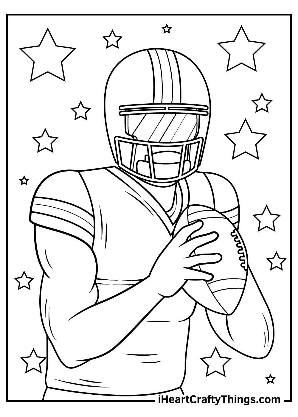 NFL coloring pages printable