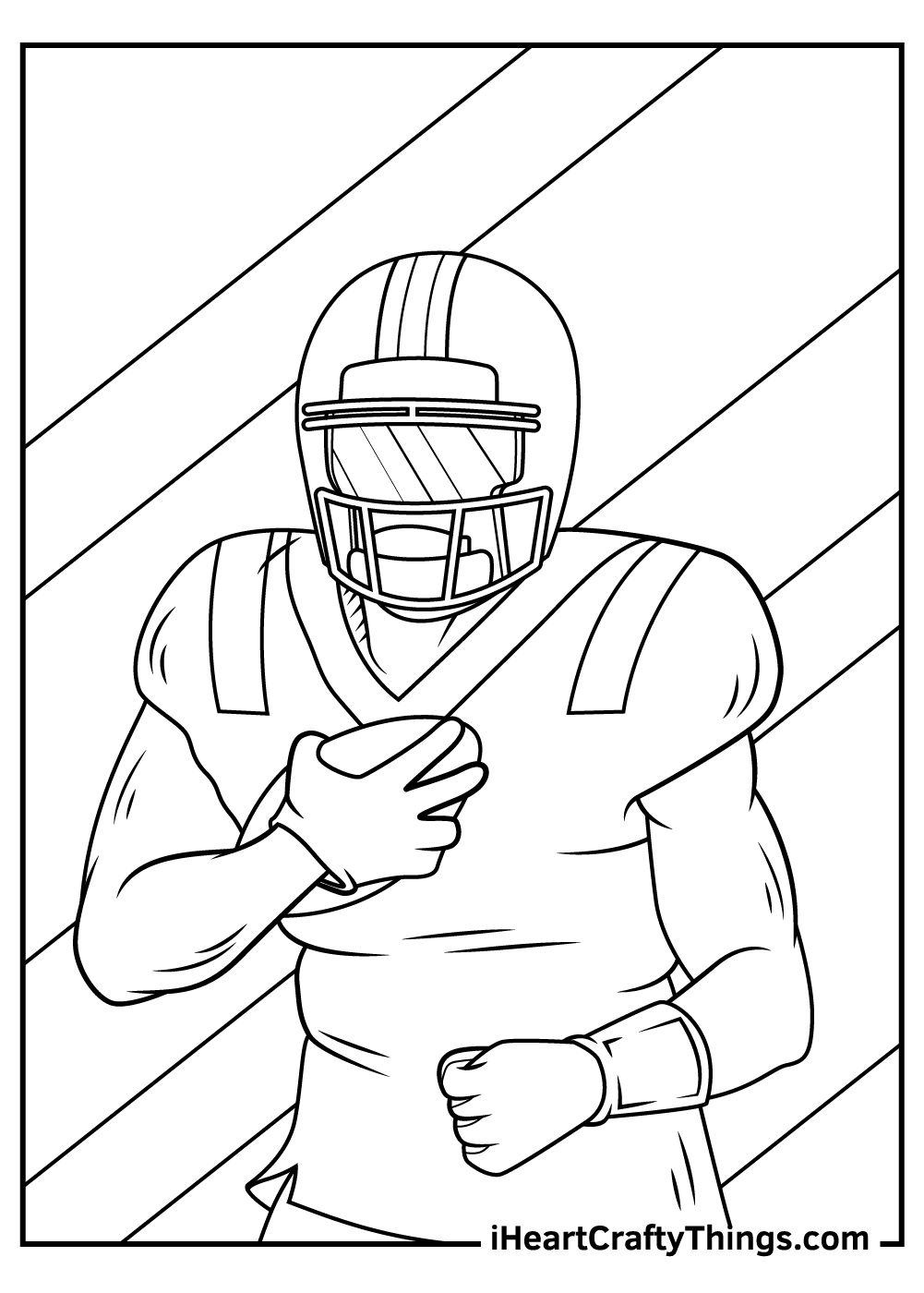 NFL coloring pages to print