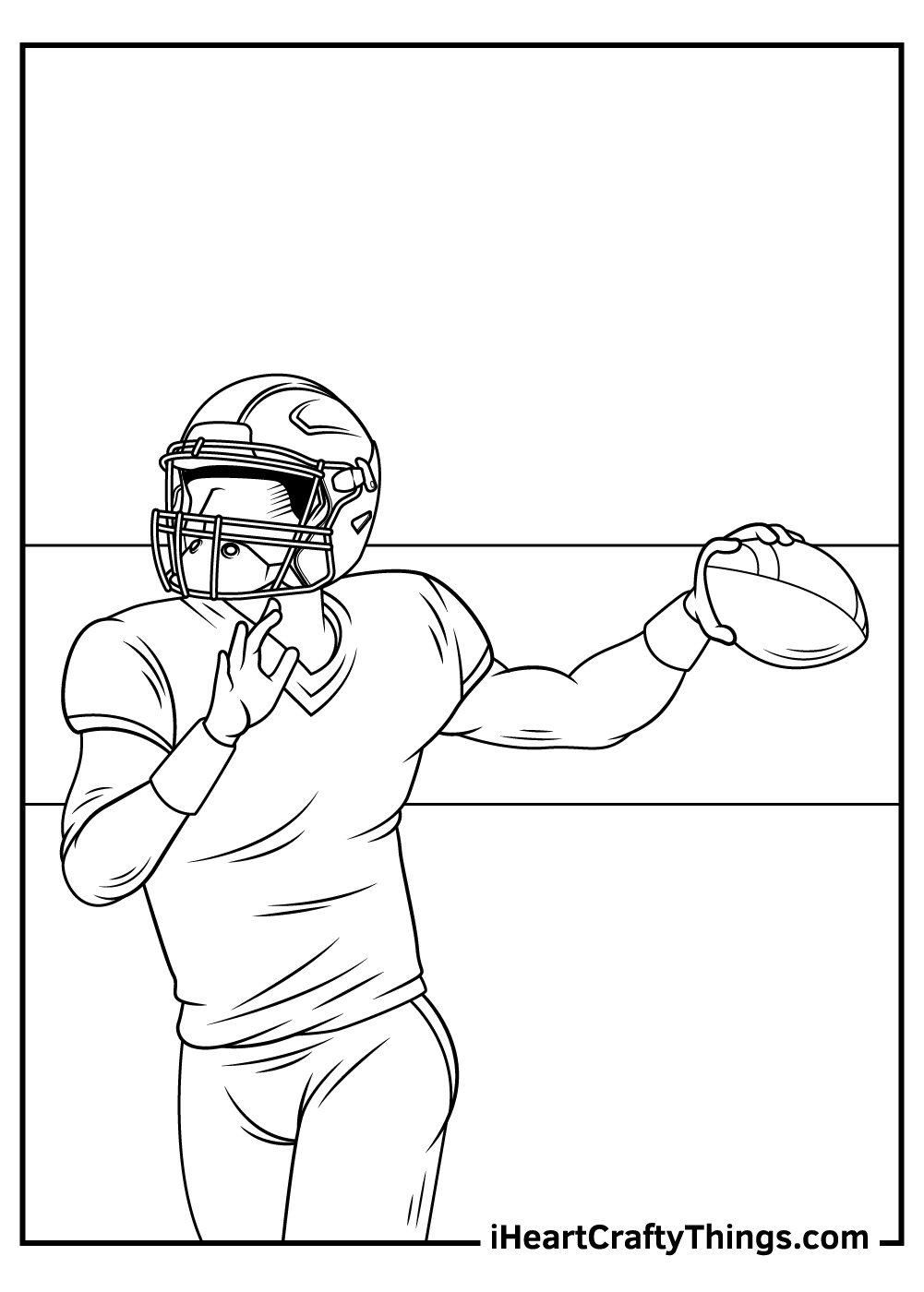 free NFL coloring sheets pdf download