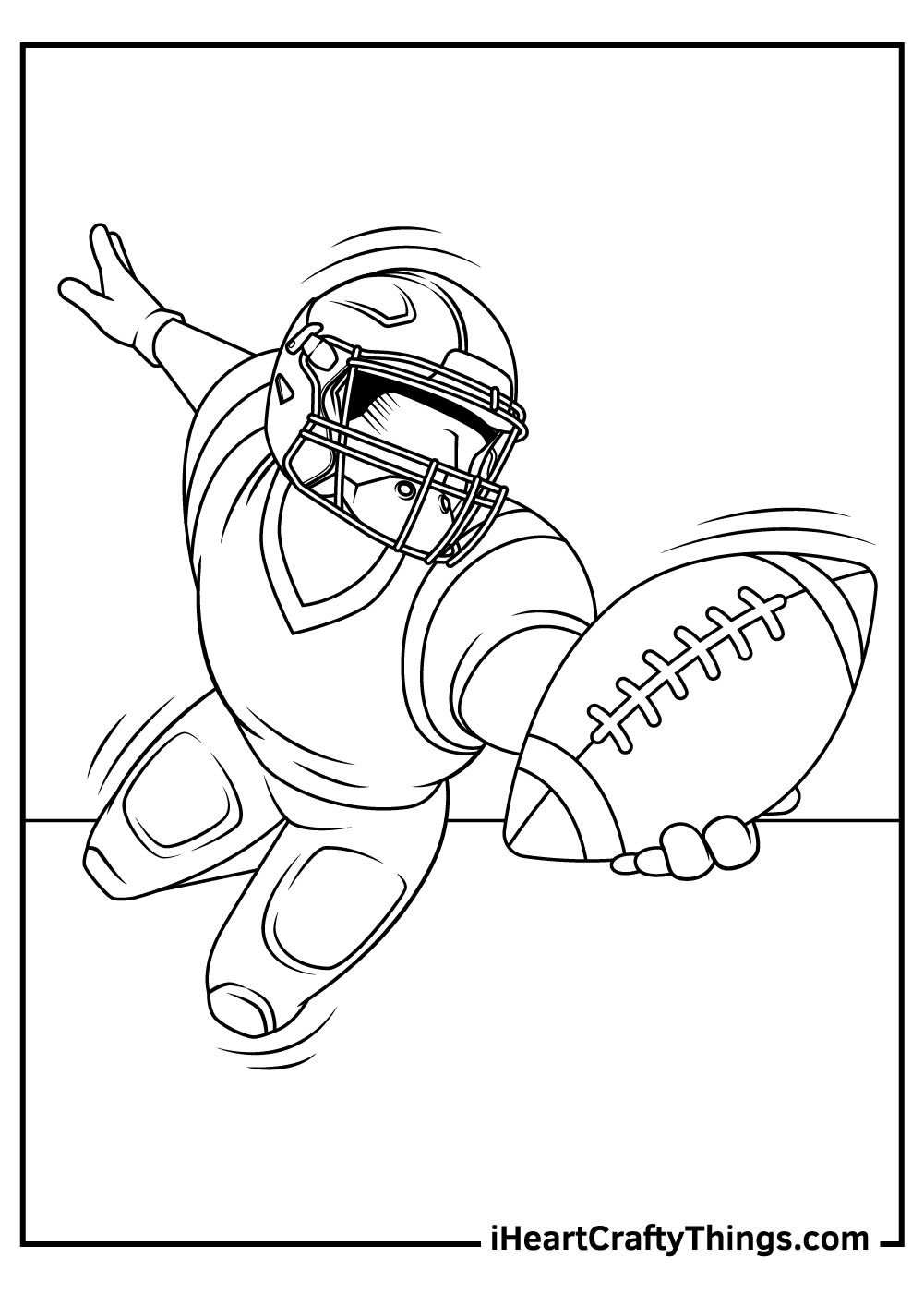 viking NFL coloring pages printable