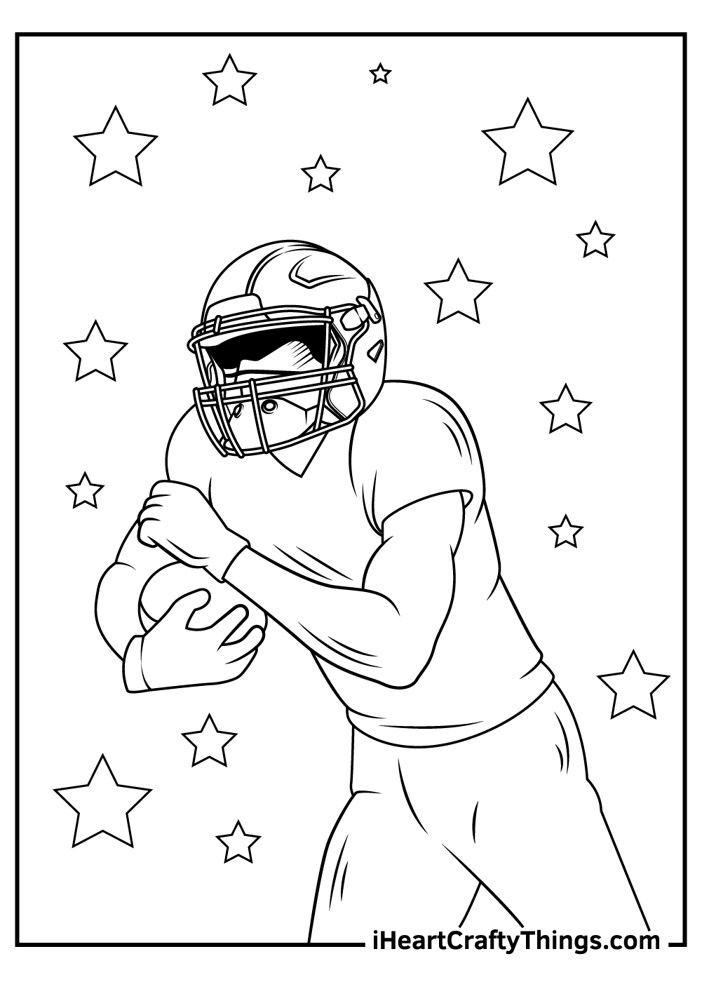falcon NFL coloring pages printable