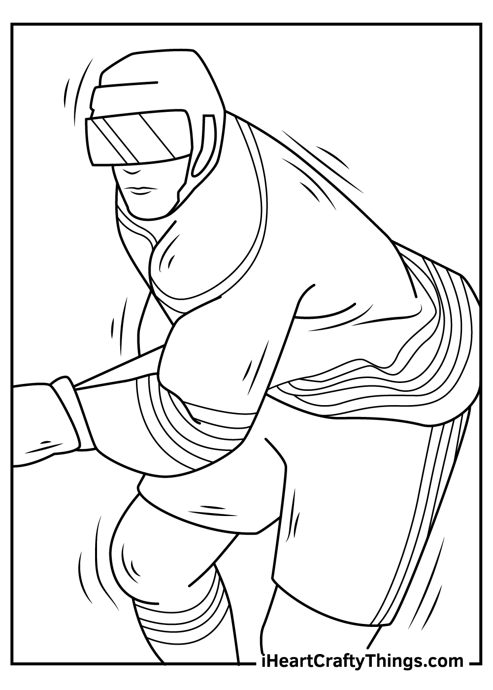 nhl coloring pages printable pdf